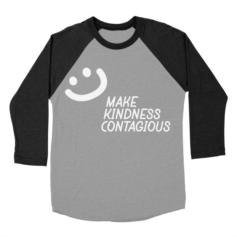 A simple smile Women's Baseball Triblend Longsleeve T-Shirt by MakeKindnessContagious's Artist Shop