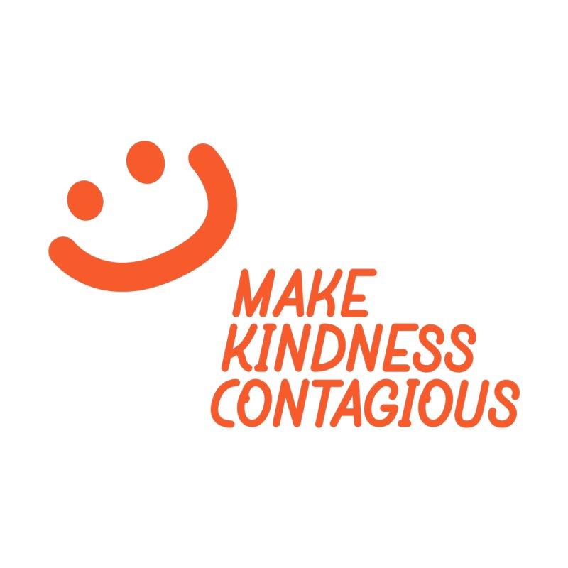 Simple Smile orange by MakeKindnessContagious's Artist Shop