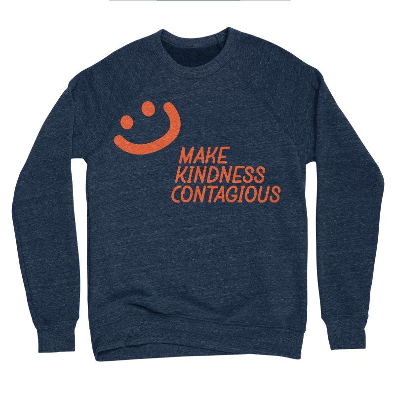 Simple Smile orange Women's Sponge Fleece Sweatshirt by MakeKindnessContagious's Artist Shop