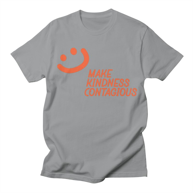Simple Smile orange Men's Regular T-Shirt by MakeKindnessContagious's Artist Shop