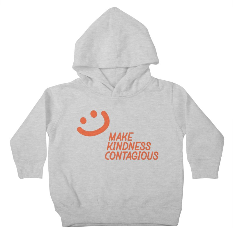 Simple Smile orange Kids Toddler Pullover Hoody by MakeKindnessContagious's Artist Shop