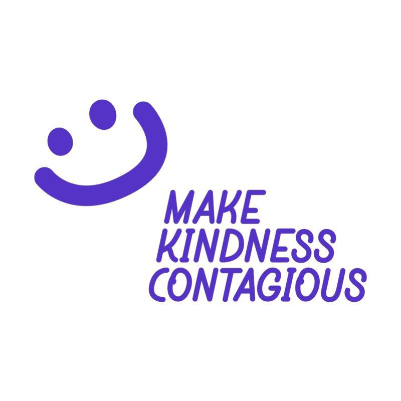 Simple Smile Purple by MakeKindnessContagious's Artist Shop