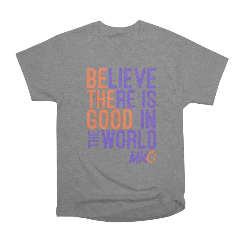 BE THE GOOD Men's Heavyweight T-Shirt by MakeKindnessContagious's Artist Shop
