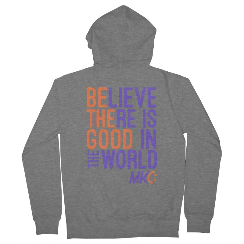 BE THE GOOD Women's Zip-Up Hoody by MakeKindnessContagious's Artist Shop