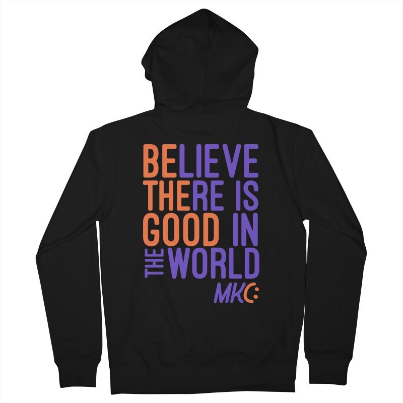 BE THE GOOD Men's Zip-Up Hoody by MakeKindnessContagious's Artist Shop