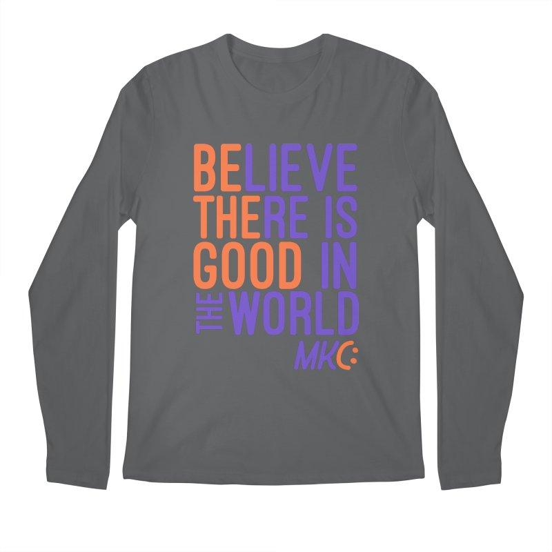 BE THE GOOD Men's Longsleeve T-Shirt by MakeKindnessContagious's Artist Shop