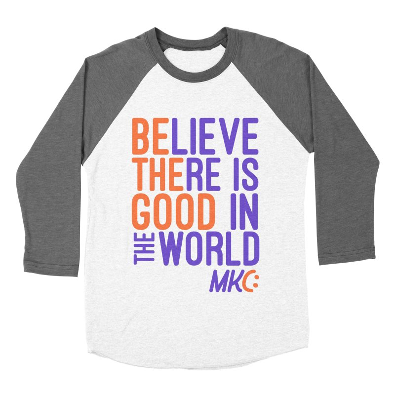 BE THE GOOD Women's Baseball Triblend Longsleeve T-Shirt by MakeKindnessContagious's Artist Shop