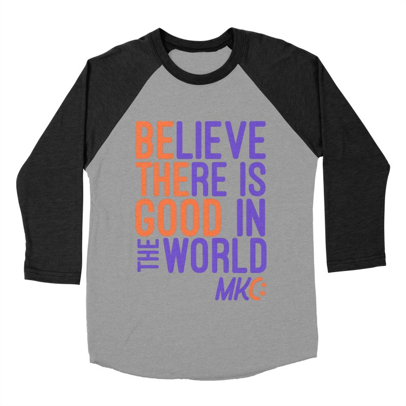 BE THE GOOD Men's Baseball Triblend Longsleeve T-Shirt by MakeKindnessContagious's Artist Shop