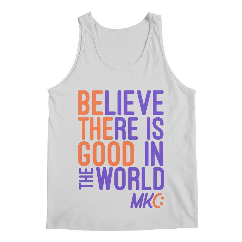 BE THE GOOD Men's Regular Tank by MakeKindnessContagious's Artist Shop