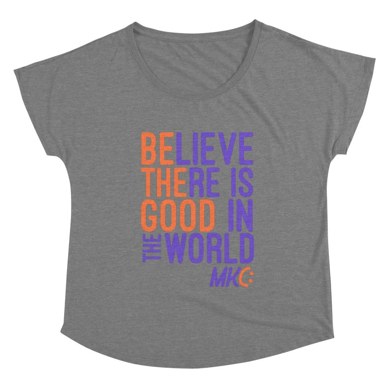 BE THE GOOD Women's Scoop Neck by MakeKindnessContagious's Artist Shop