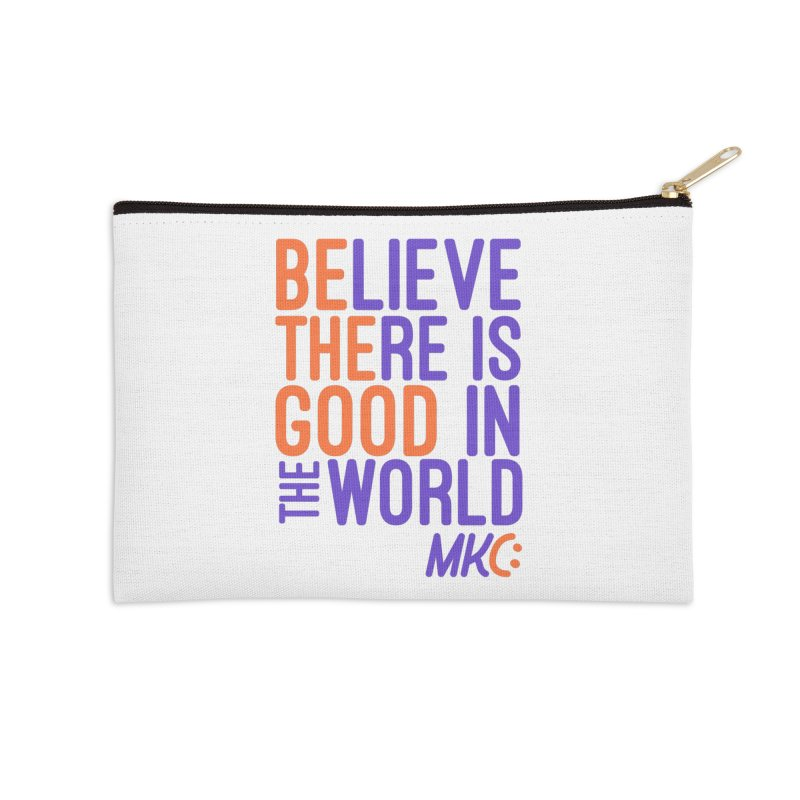 BE THE GOOD Accessories Zip Pouch by MakeKindnessContagious's Artist Shop