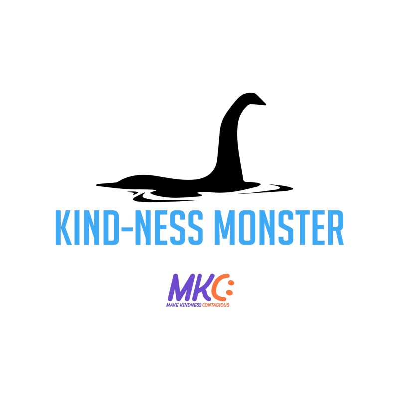 Kindness Monster Men's T-Shirt by MakeKindnessContagious's Artist Shop