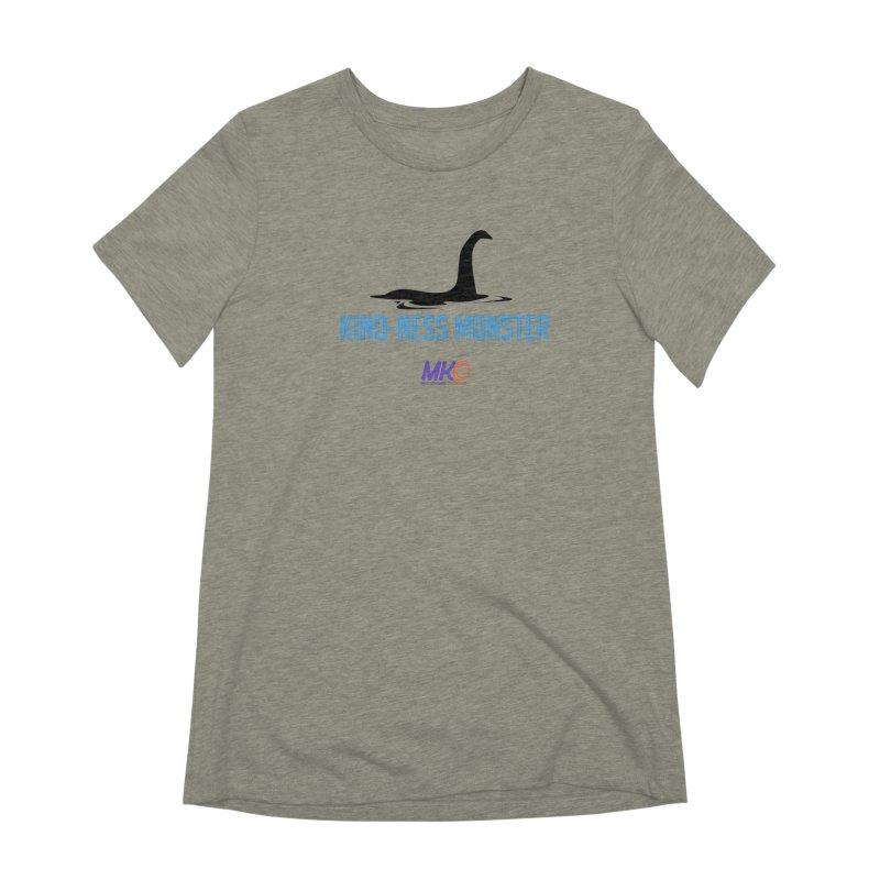 Kindness Monster Women's Extra Soft T-Shirt by MakeKindnessContagious's Artist Shop