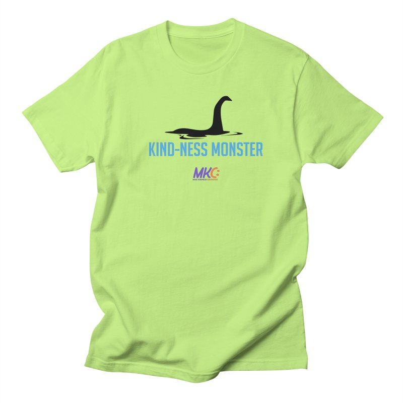 Kindness Monster Men's Regular T-Shirt by MakeKindnessContagious's Artist Shop
