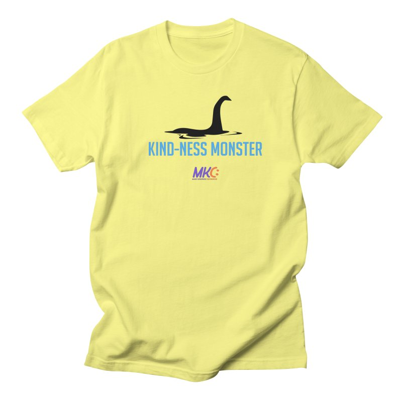 Kindness Monster Men's Regular T-Shirt by MakeKindnessContagious's Artist Shop