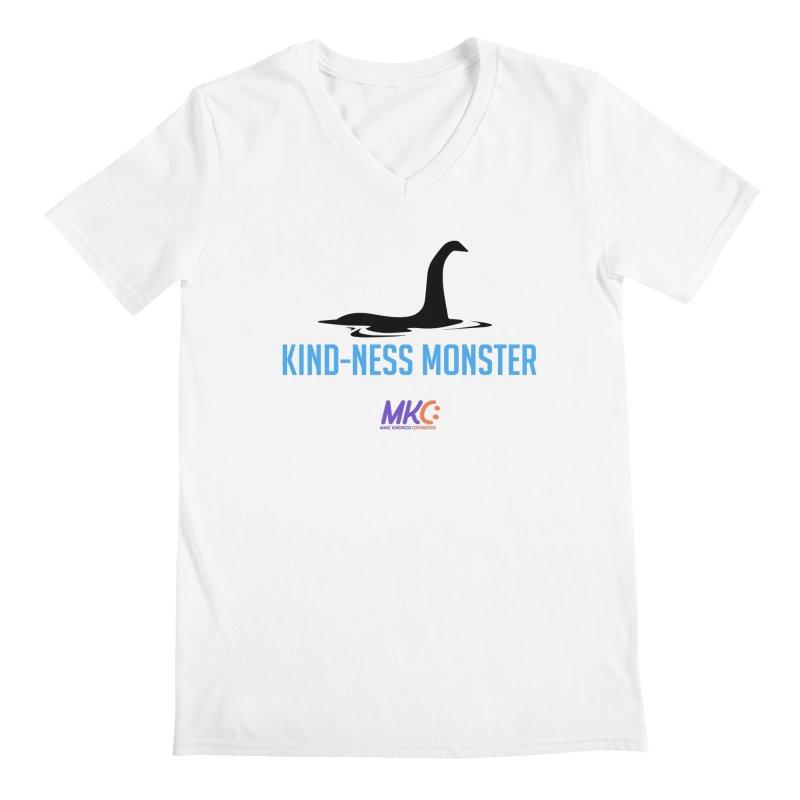 Kindness Monster Men's Regular V-Neck by MakeKindnessContagious's Artist Shop