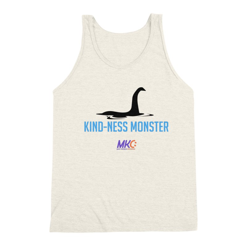 Kindness Monster Men's Triblend Tank by MakeKindnessContagious's Artist Shop