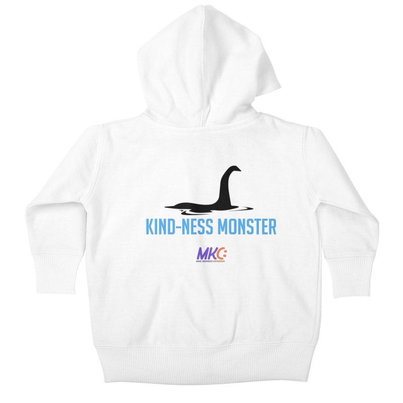 Kindness Monster Kids Baby Zip-Up Hoody by MakeKindnessContagious's Artist Shop