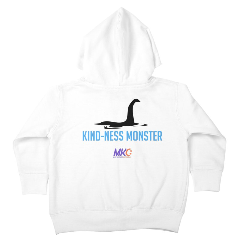 Kindness Monster Kids Toddler Zip-Up Hoody by MakeKindnessContagious's Artist Shop