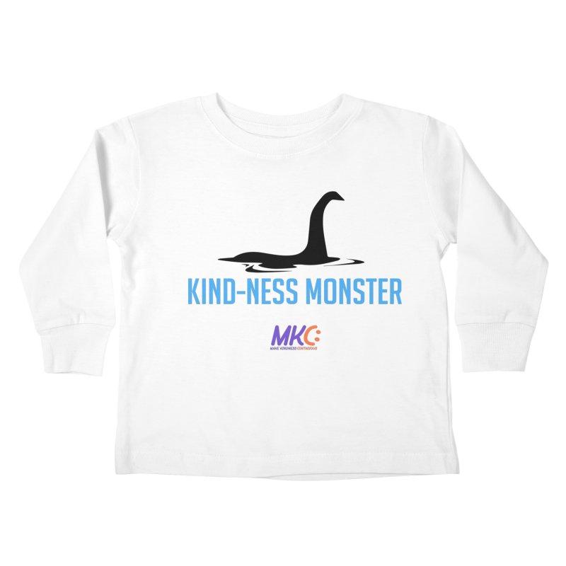 Kindness Monster Kids Toddler Longsleeve T-Shirt by MakeKindnessContagious's Artist Shop