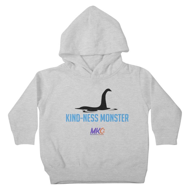 Kindness Monster Kids Toddler Pullover Hoody by MakeKindnessContagious's Artist Shop