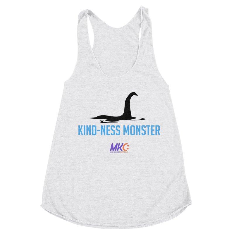 Kindness Monster Women's Racerback Triblend Tank by MakeKindnessContagious's Artist Shop