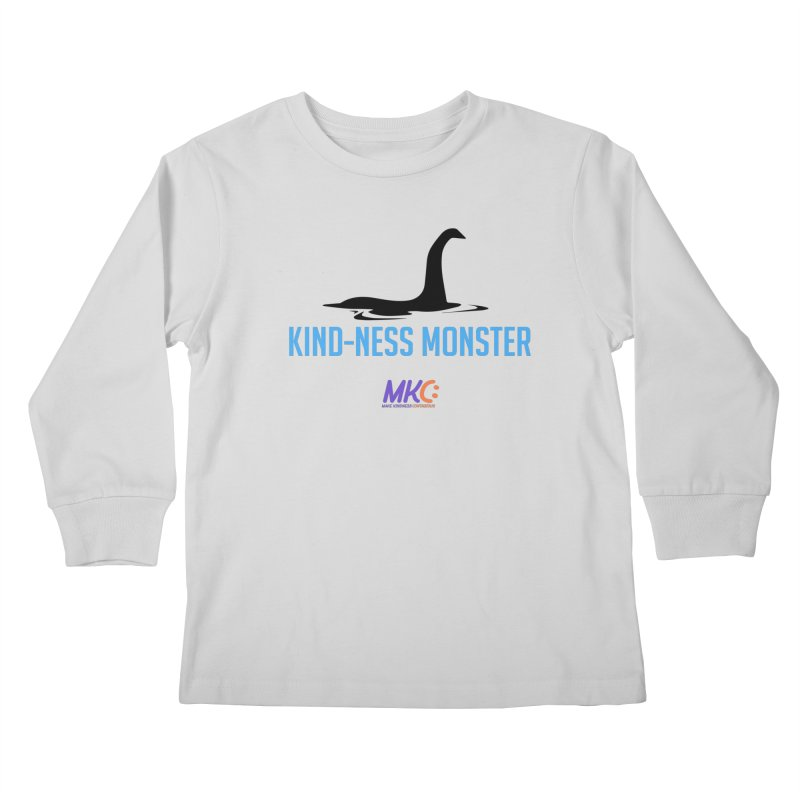 Kindness Monster Kids Longsleeve T-Shirt by MakeKindnessContagious's Artist Shop