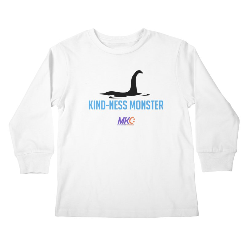 Kindness Monster Kids Longsleeve T-Shirt by MakeKindnessContagious's Artist Shop