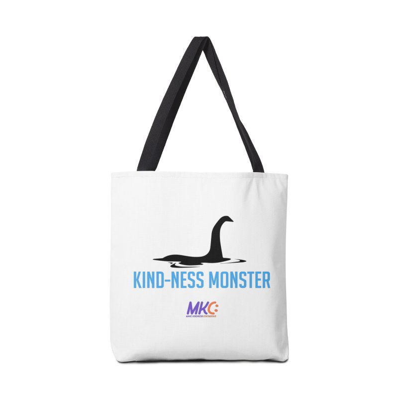 Kindness Monster Accessories Bag by MakeKindnessContagious's Artist Shop