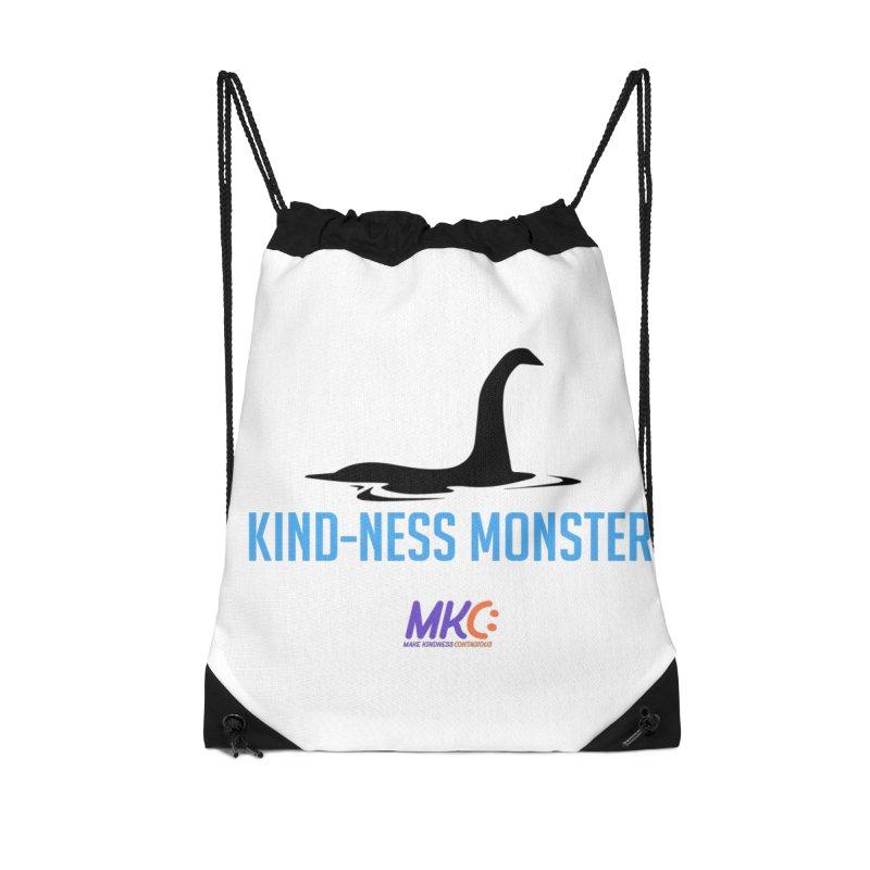 Kindness Monster Accessories Drawstring Bag Bag by MakeKindnessContagious's Artist Shop