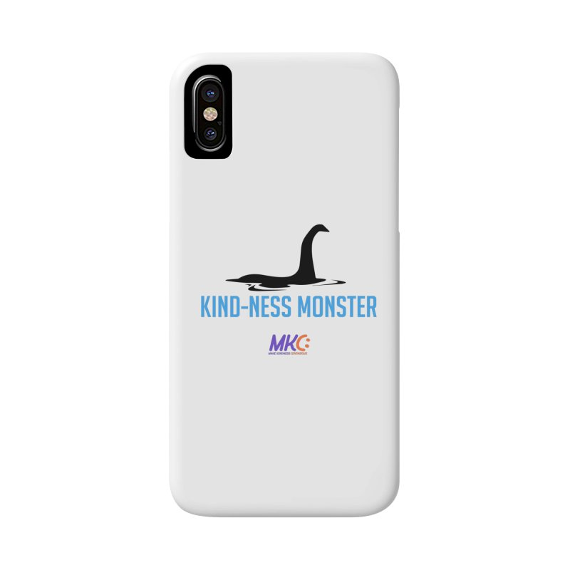 Kindness Monster Accessories Phone Case by MakeKindnessContagious's Artist Shop