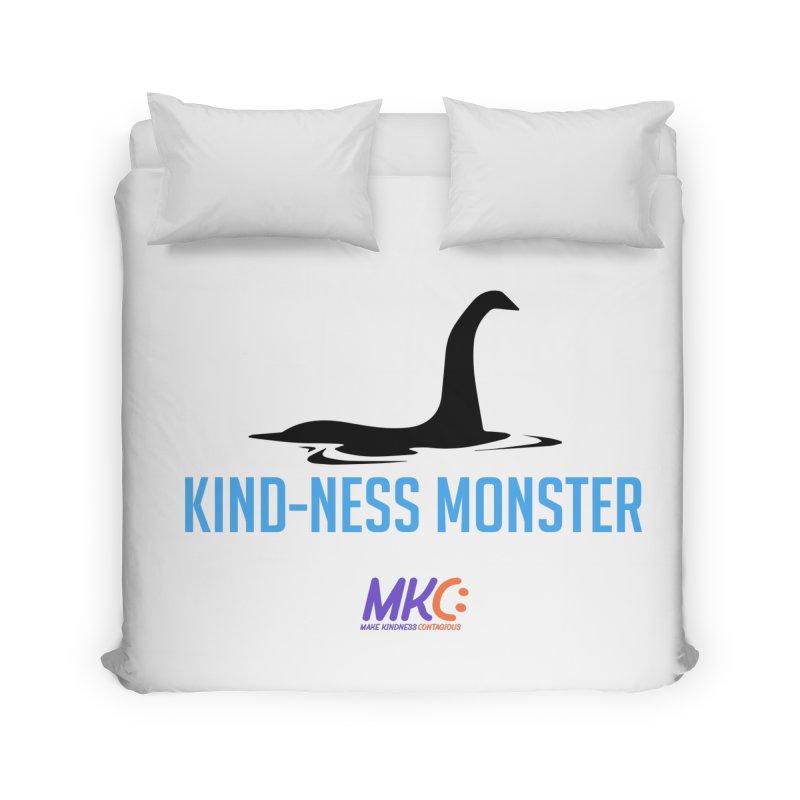 Kindness Monster Home Duvet by MakeKindnessContagious's Artist Shop
