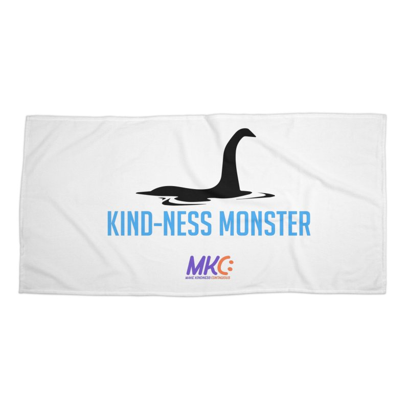 Kindness Monster Accessories Beach Towel by MakeKindnessContagious's Artist Shop