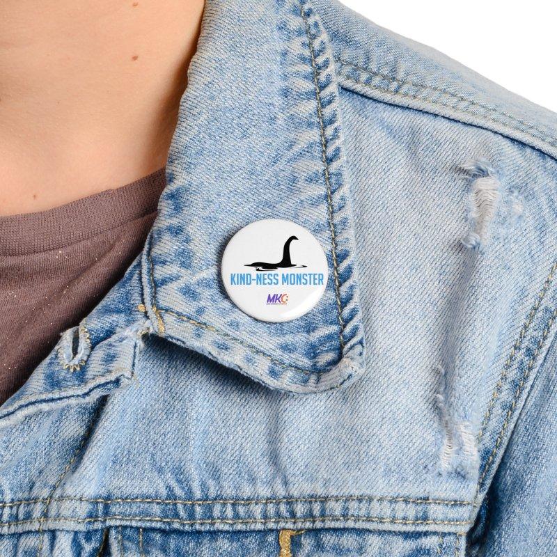 Kindness Monster Accessories Button by MakeKindnessContagious's Artist Shop