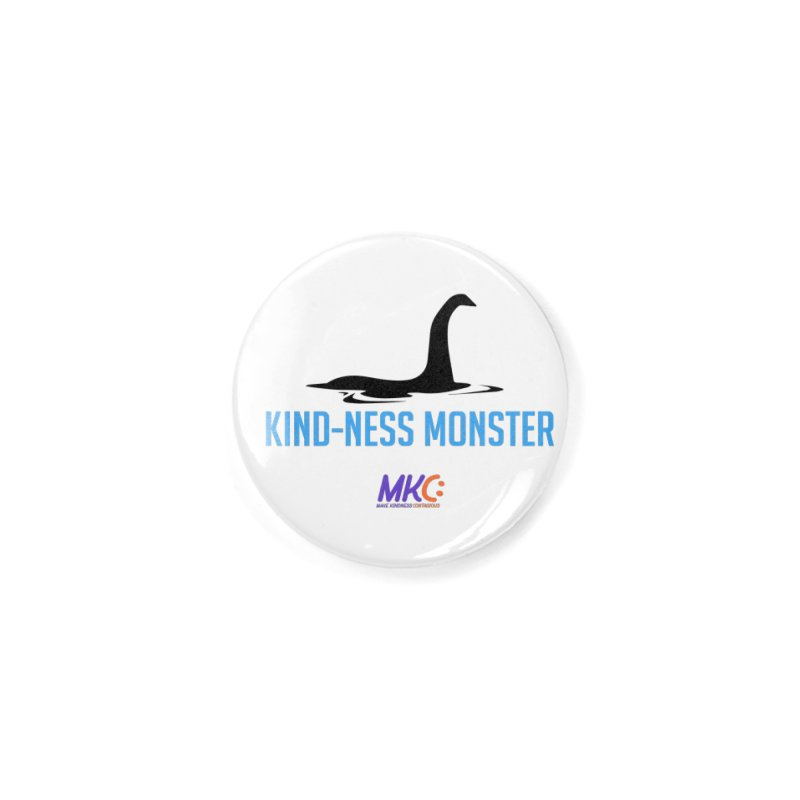 Kindness Monster Accessories Button by MakeKindnessContagious's Artist Shop