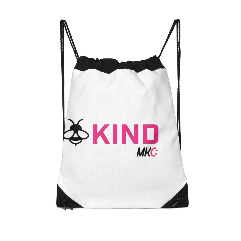 Bee Kind Accessories Drawstring Bag Bag by MakeKindnessContagious's Artist Shop