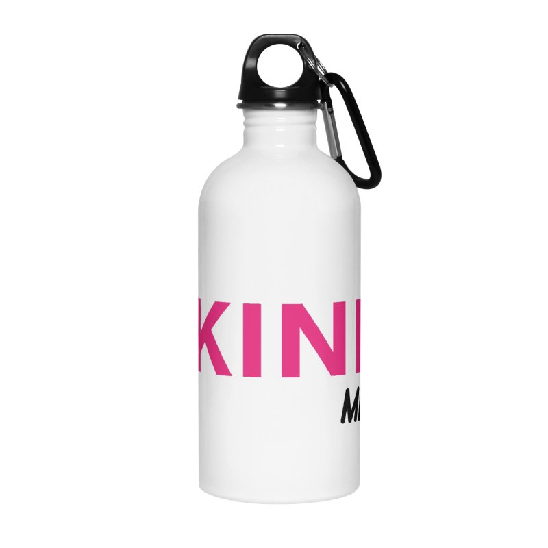 Bee Kind Accessories Water Bottle by MakeKindnessContagious's Artist Shop