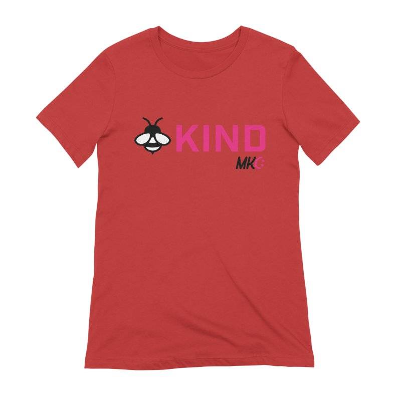 Bee Kind Women's Extra Soft T-Shirt by MakeKindnessContagious's Artist Shop