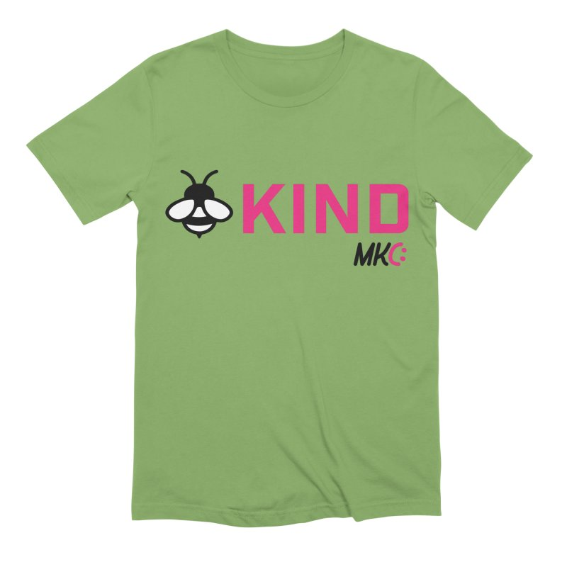 Bee Kind Men's Extra Soft T-Shirt by MakeKindnessContagious's Artist Shop