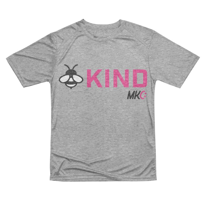 Bee Kind Men's Performance T-Shirt by MakeKindnessContagious's Artist Shop