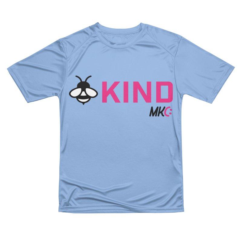 Bee Kind Women's Performance Unisex T-Shirt by MakeKindnessContagious's Artist Shop