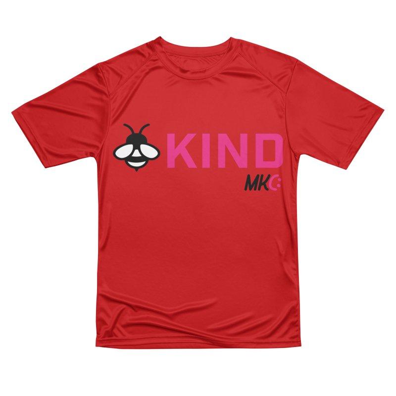 Bee Kind Men's Performance T-Shirt by MakeKindnessContagious's Artist Shop