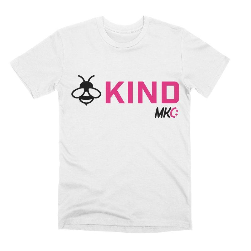Bee Kind Men's Premium T-Shirt by MakeKindnessContagious's Artist Shop