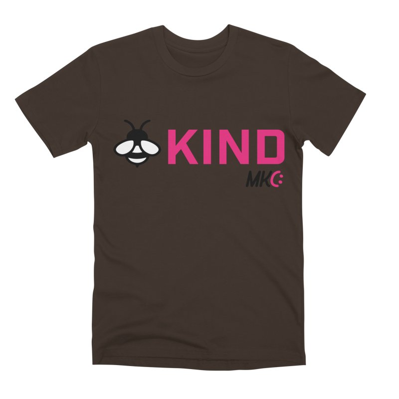 Bee Kind Men's Premium T-Shirt by MakeKindnessContagious's Artist Shop
