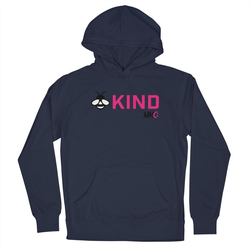 Bee Kind Men's Pullover Hoody by MakeKindnessContagious's Artist Shop