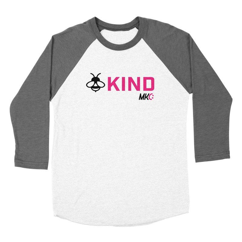 Bee Kind Women's Longsleeve T-Shirt by MakeKindnessContagious's Artist Shop