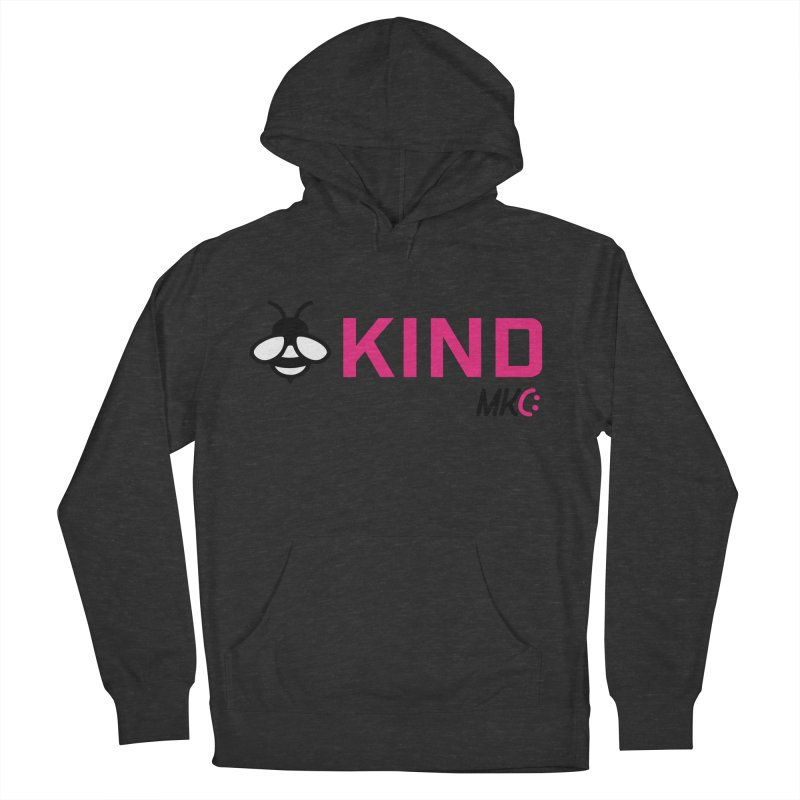 Bee Kind Men's French Terry Pullover Hoody by MakeKindnessContagious's Artist Shop