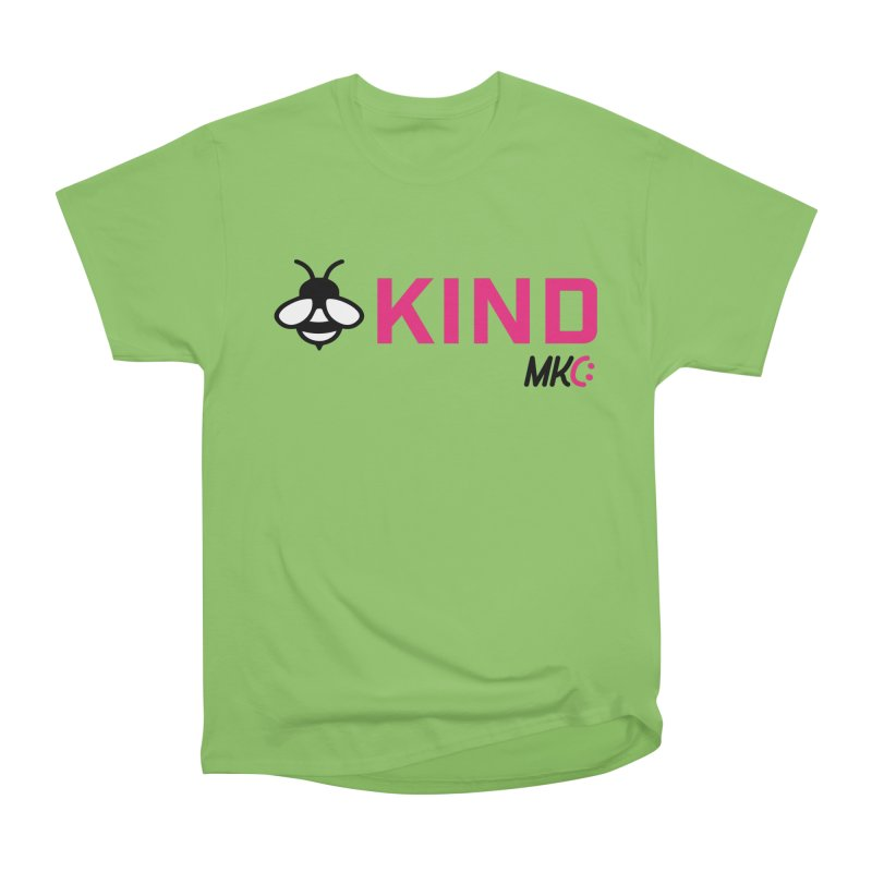 Bee Kind Men's Heavyweight T-Shirt by MakeKindnessContagious's Artist Shop
