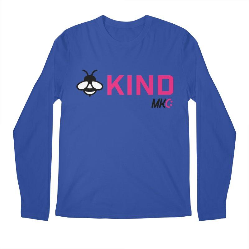 Bee Kind Men's Regular Longsleeve T-Shirt by MakeKindnessContagious's Artist Shop