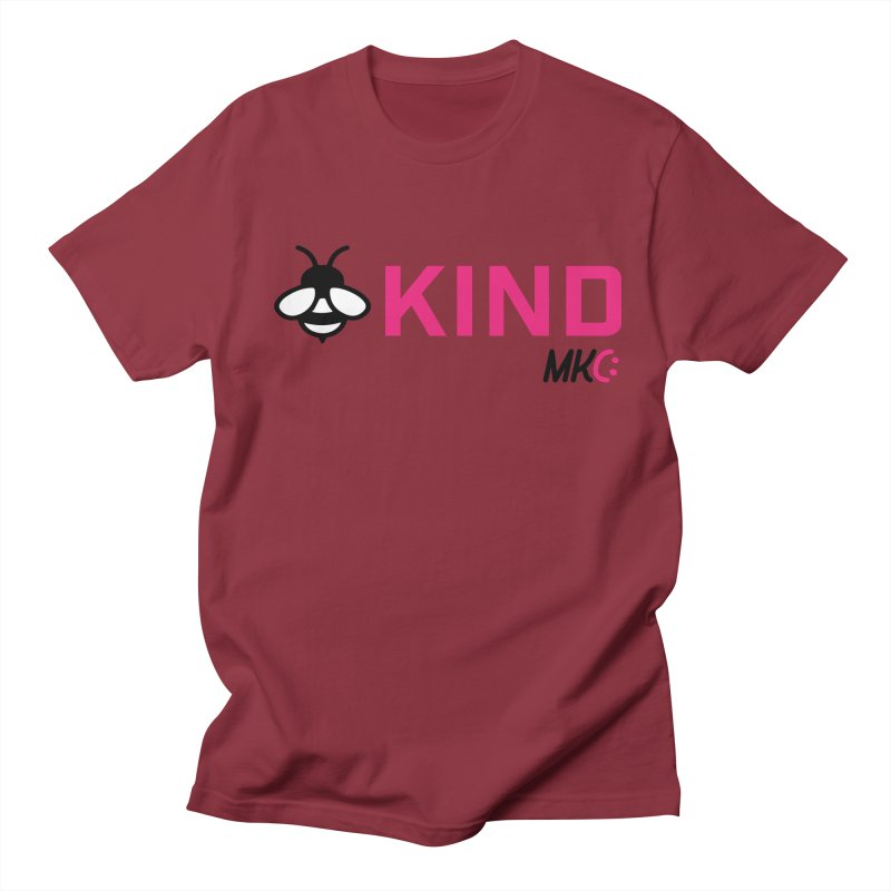 Bee Kind Women's Regular Unisex T-Shirt by MakeKindnessContagious's Artist Shop